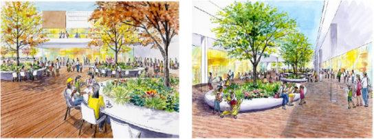 中庭のイメージ