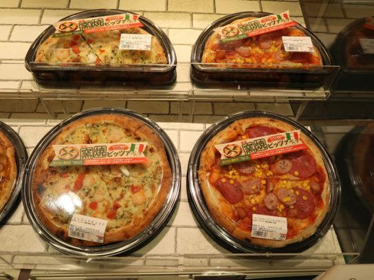 人気のナポリピザ