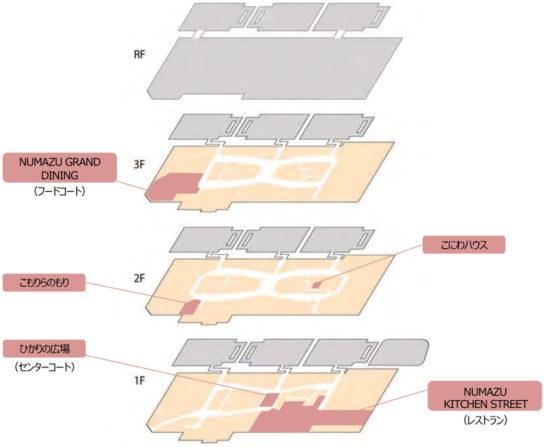 フロア配置図