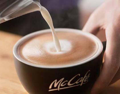 本格カフェコーヒー提供