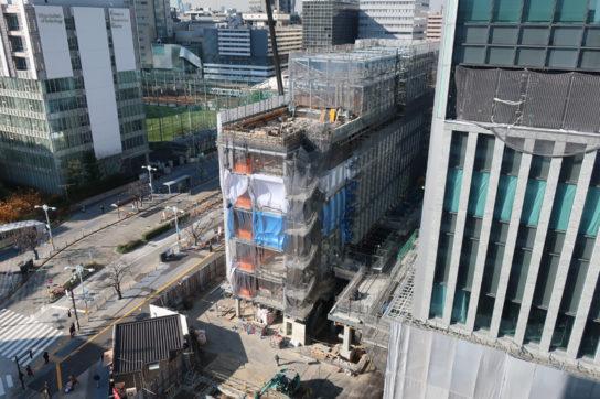 建設中の大型店