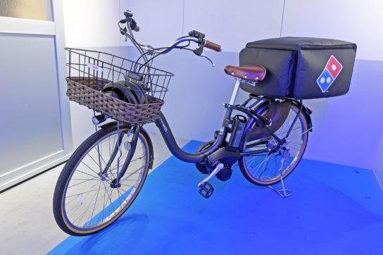 電動自転車でも配送