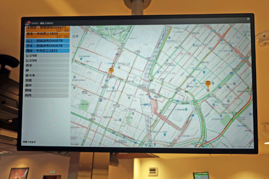 GPS DRIVER TRACKERの管理画面