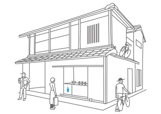 京都2店舗目となるカフェ