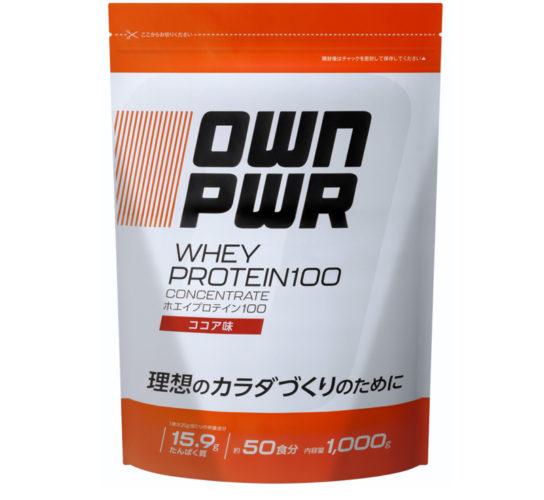 OWN PWR ホエイプロテイン 100 ココア味