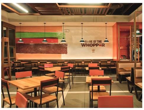 バーガーキング店舗イメージ