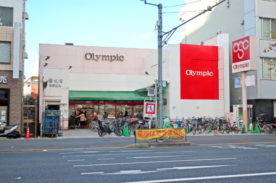 Olympicの店舗