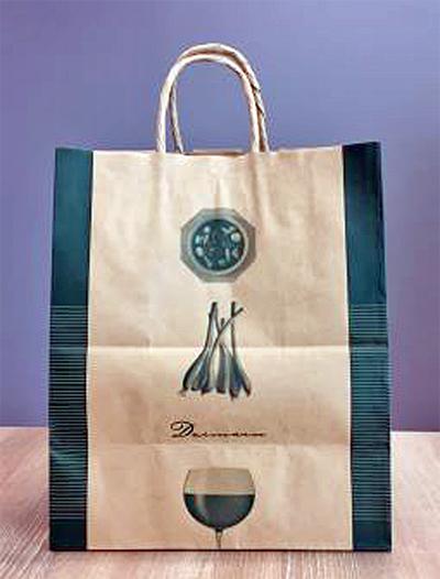 食品専用ショッピングバッグ