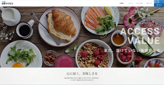 日本アクセスホームページ