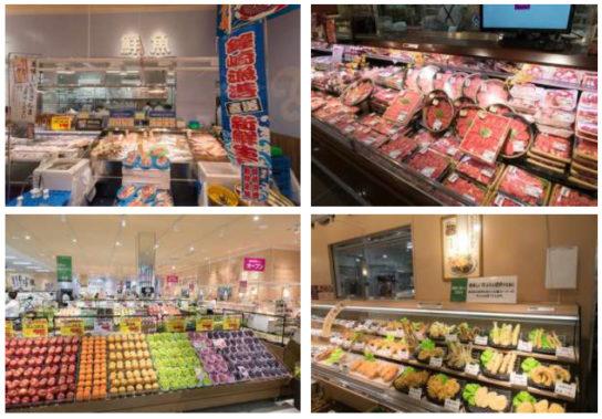 毎日の買物に便利な食品スーパー