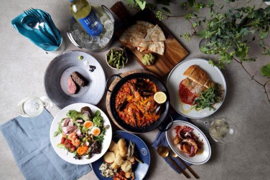 ヨーロッパ料理が主軸