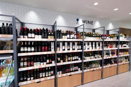 1階ワイン売場
