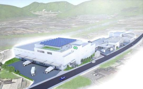 ゆめデリカ本社・深川第二工場(仮称)のイメージ