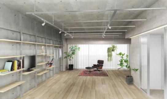 TSUTAYAが空間デザインした部屋