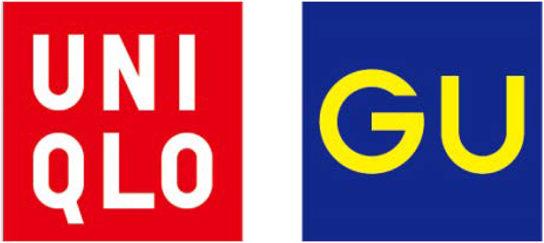 ユニクロとジーユーのロゴ
