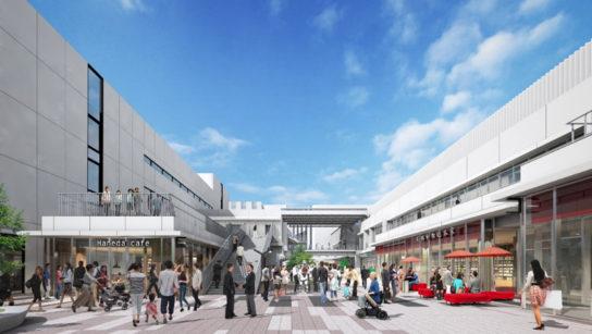 20190820haneda2 544x307 - 羽田空港/飲食・ラボ・会議場などの複合施設、2020年夏開業