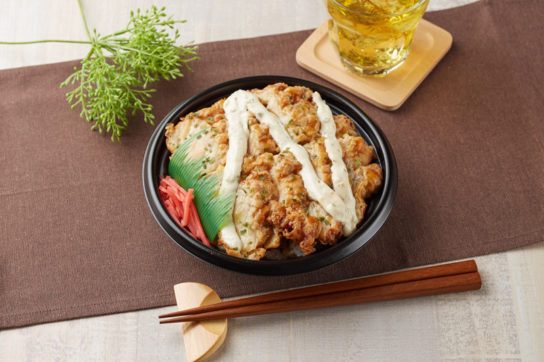タルタル鶏天丼