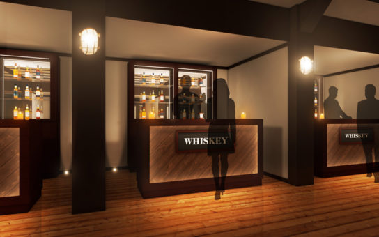 ウイスキーカウンター(イメージ)