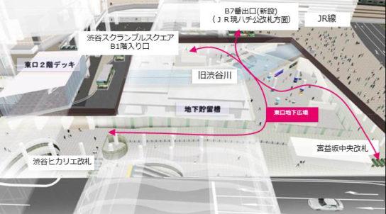 渋谷駅東口地下広場