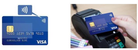 Visaのタッチ決済の利用イメージ