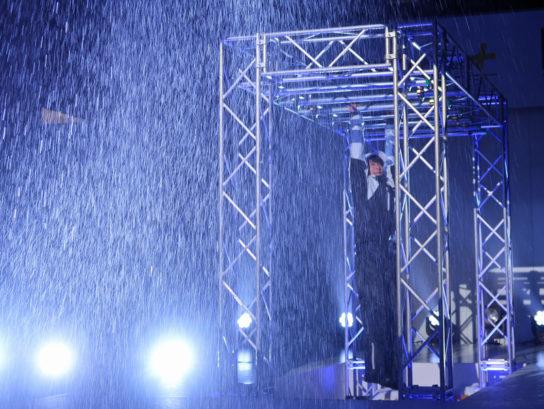 雨にも強いワークマン製品