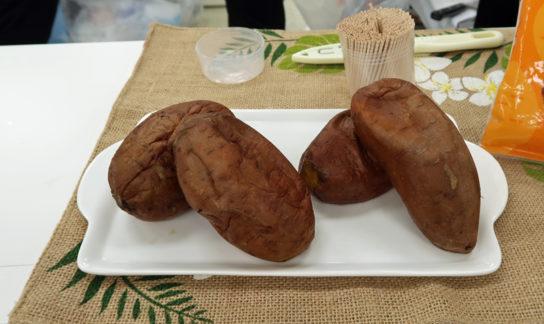 安納芋を使った焼き芋