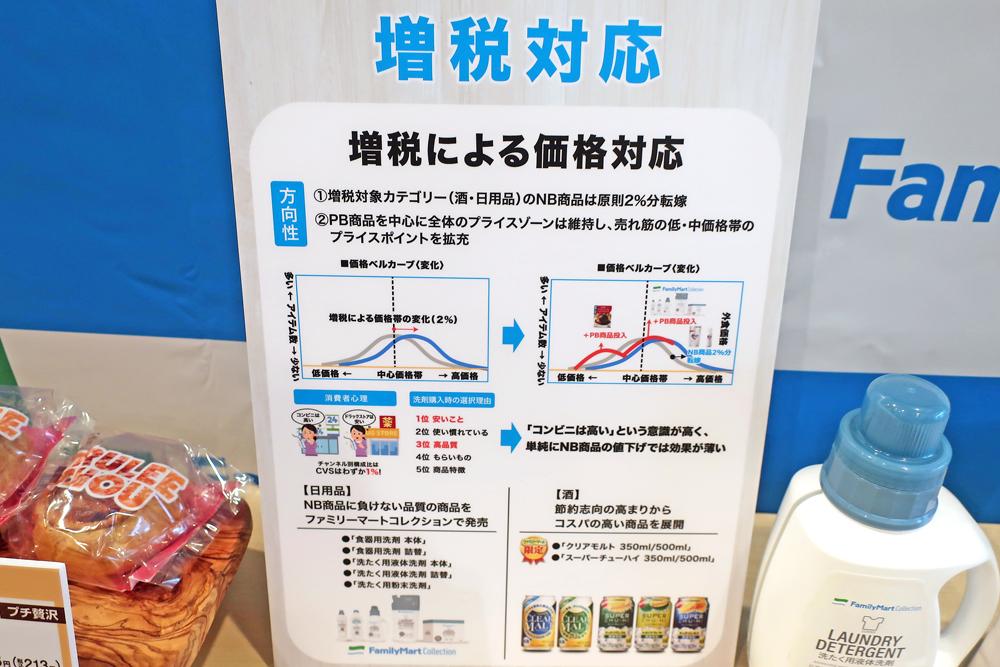 ファミリーマート/消費税増税対策「洗剤」PB新商品投入