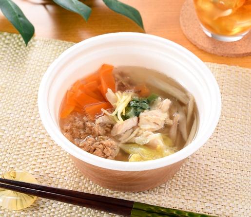 8品目具材の生姜スープ
