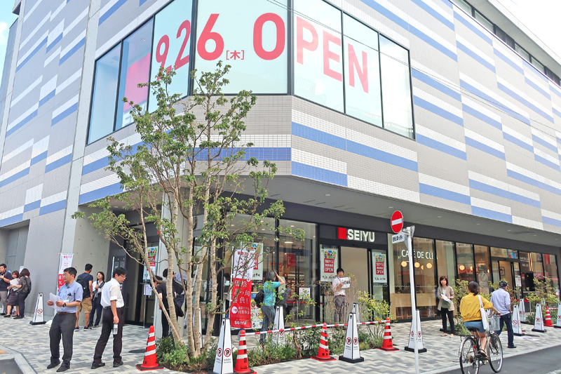 20190927seiyu 1 - 西友/1967年開店「東長崎店」再出店、駅横でラクラク買い物