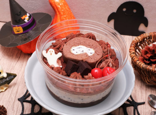 チョコ&クッキークリームパフェ