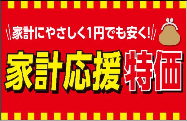 イオンスーパーセンター/10月1日~29日食品・日用品250品目を