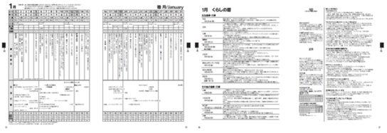'20生活行動カレンダーの掲載例