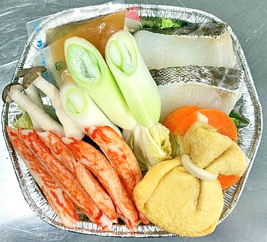 藻塩を使った海鮮塩ちゃんこなべ