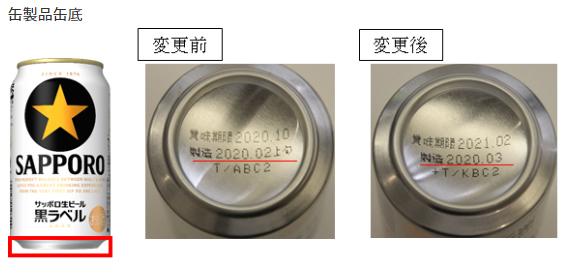 缶製品の変更イメージ