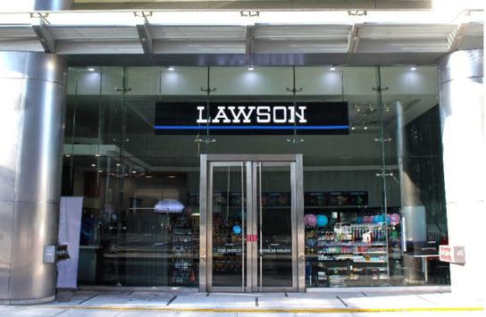 フィリピンのローソン店舗外観イメージ