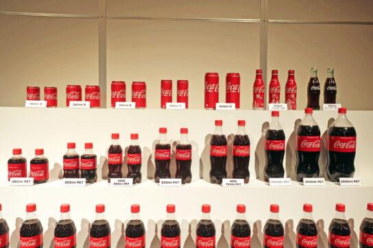 コカ・コーラの商品ラインナップ