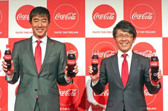 和佐CMO(左)と佐藤東京営業本部長(右)