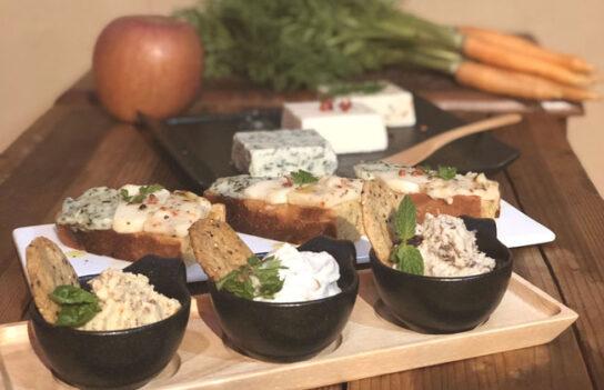 ヴィーガンチーズ&グルテンフリーパンイメージ
