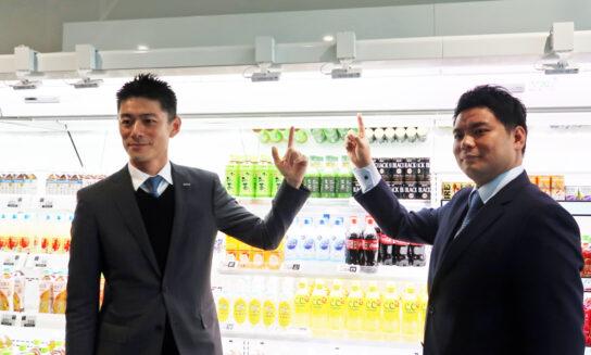 福島専務、Retail AIの永田社長