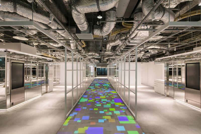 20191127parco - 渋谷パルコ/デジタル技術を使った床演出「RootF ルートエフ」導入