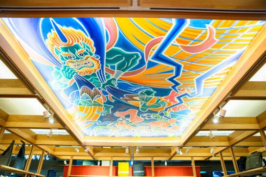 風神・雷神の天井画