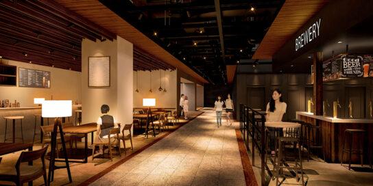 8階既存棟レストランフロアを拡大