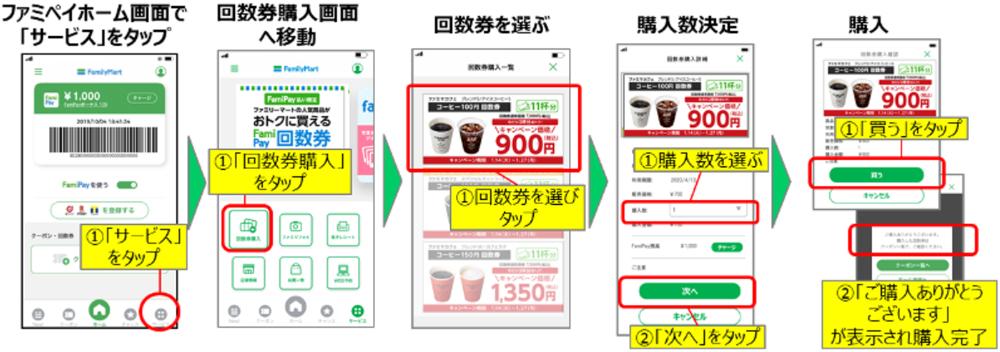 20200106famipay1 - ファミリーマート/ファミペイ「回数券」サービス1月14日開始