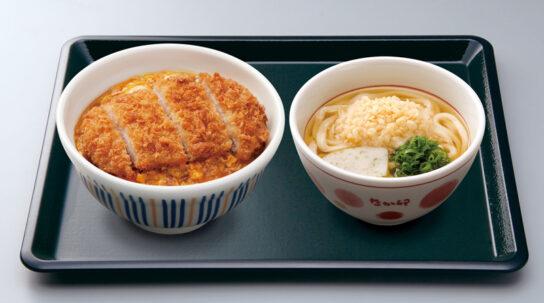 なか卯/カツ丼販売15周年記念、セット商品を最大150円引き