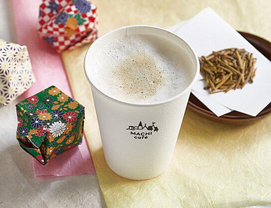 MACHI cafe ほうじ茶ラテ