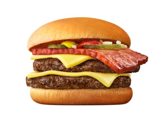 マクドナルド/チーズもベーコンも肉も厚い「ぜんアツ!ダブチ」