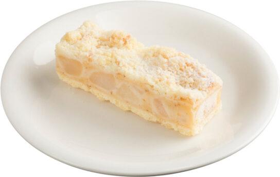 洋梨のクランブルケーキ