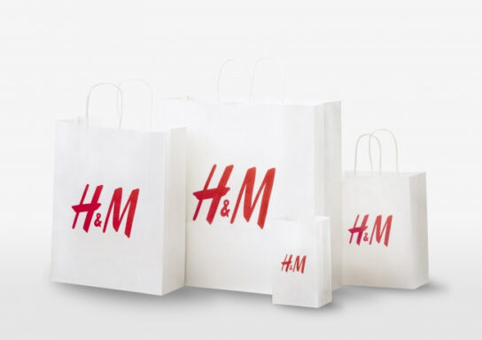 ショッピングバッグの消費が53%減少