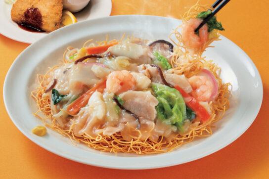 長崎たっぷり野菜の海鮮皿うどん
