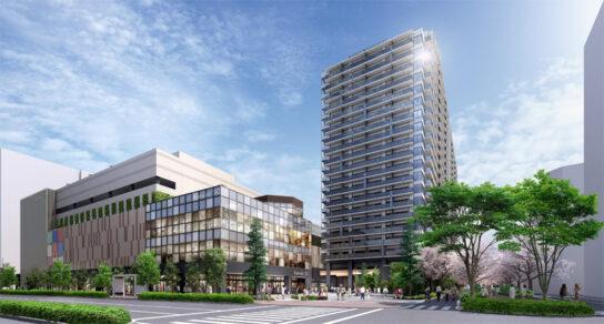 プラウドタワー亀戸クロス・商業施設イメージ